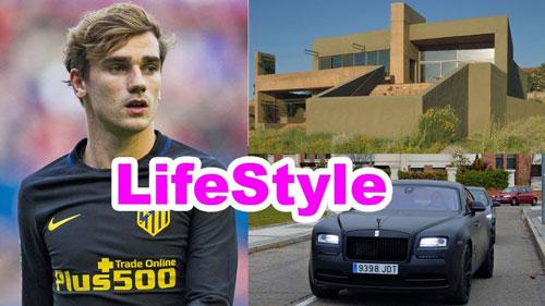 Antoine Griezmann Lifestyle