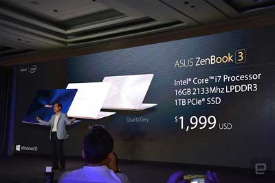 Aus ZenBook 3 Price
