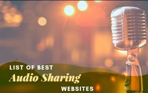 Best Audio Sharing Sites