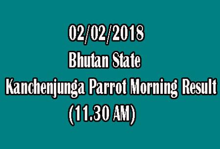 Bhutan Kanchenjunga Parrot Morning Result