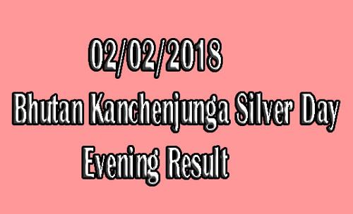 Bhutan Kanchenjunga Silver Day Evening Result