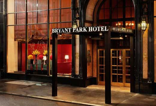 Bryant Park Hotel New York times square