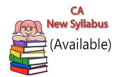CA New Syllabus