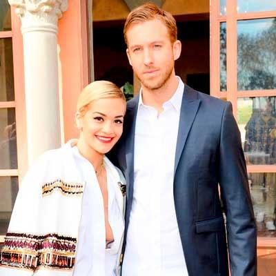Calvin Harris with Rita Ora