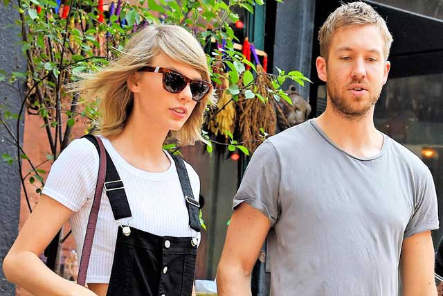 CalvinHarris with Taylor Swift