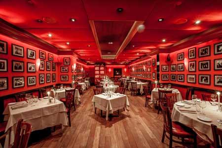 Club A Steakhouse Restaurant in Manhattan