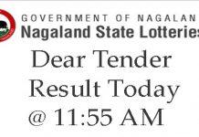 Dear Tender Result