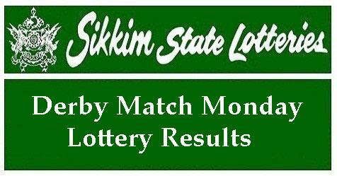 Derby Match Monday Results