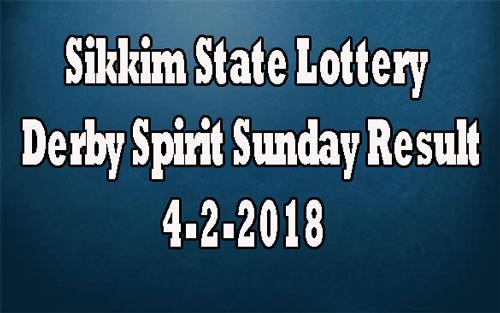 Derby Spirit Sunday Result