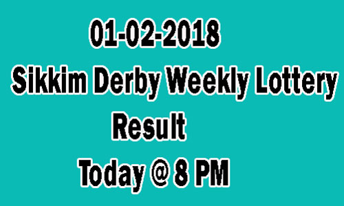 Derby Weekly Lottery Result