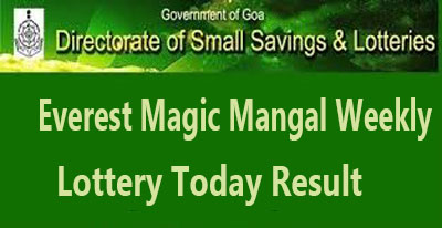 Everest Magic Mangal Weekly Lottery Result