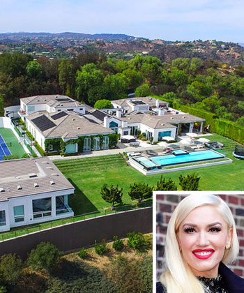 Gwen Stefani's Beverly Hills Home