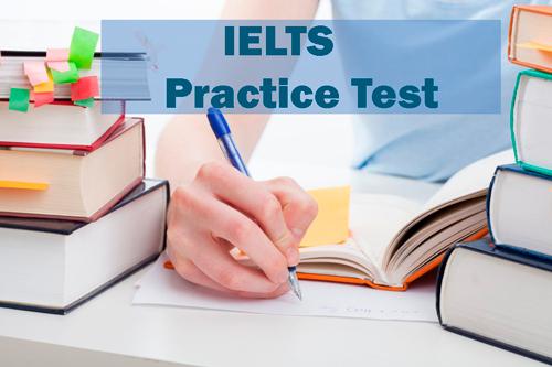 IELTS Practice Test PDF