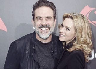 Jeffrey Dean Morgan with Hilarie Burton
