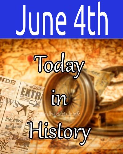 June 4th in history