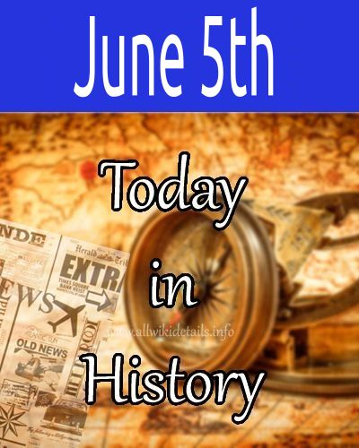 June 5th in history