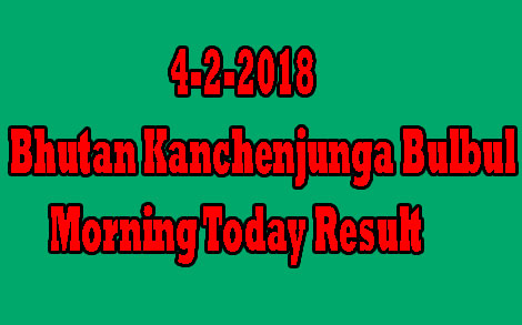 Kanchenjunga Bulbul Morning Today Result