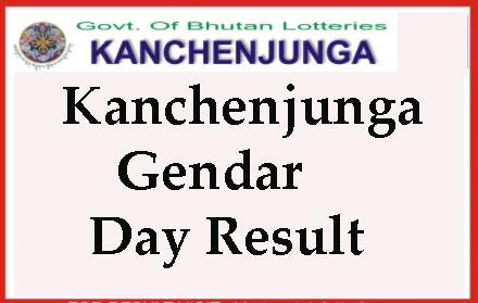 Kanchenjunga Gendar Day Result Evening