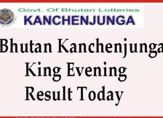 Kanchenjunga King Evening Resuls