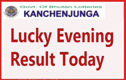 Kanchenjunga Lucky Evening Result