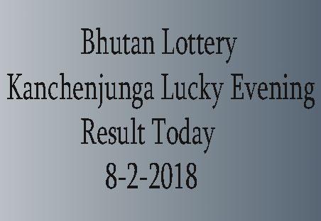 Kanchenjunga Lucky Evening Result
