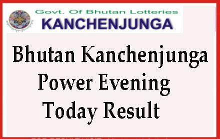 Kanchenjunga Power Evening Result