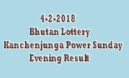 Kanchenjunga Power Sunday Result