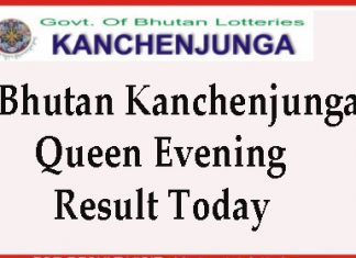 Kanchenjunga Queen Evening Result