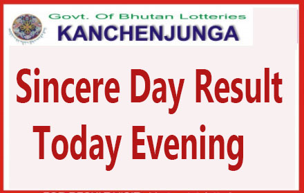 Kanchenjunga Sincere Day Result