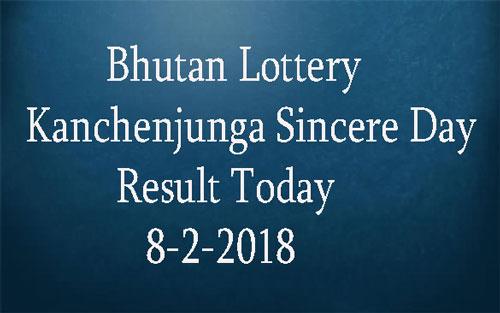 Kanchenjunga Sincere Day Result