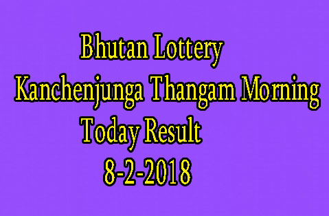 Kanchenjunga Thangam Morning Today Result