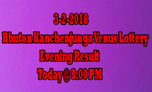 Kanchenjunga Venus Evening Result