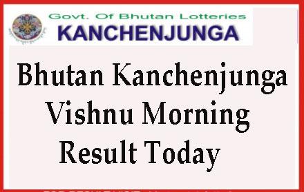 Kanchenjunga Vishnu Morning Results
