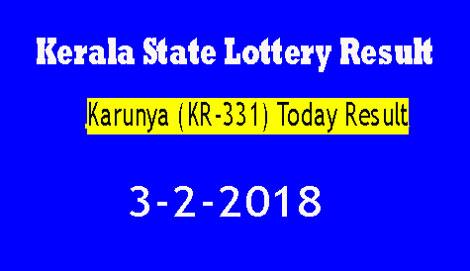 Karunya KR-331 Today Result