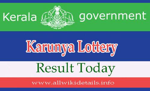 Karunya Lottery Results