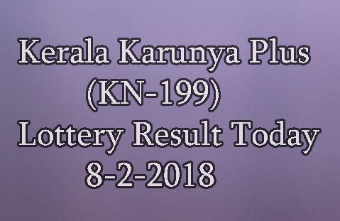 Karunya Plus (KN-199) Lottery Result