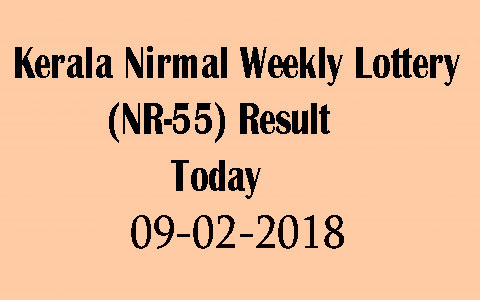 Kerala Nirmal Weekly (NR-55) Lottery Result