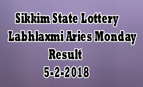 Labhlaxmi Aries Monday Result