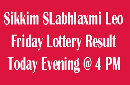 Labhlaxmi Leo Friday Lottery Result