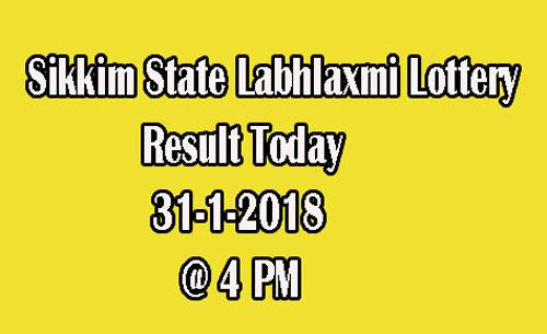 Labhlaxmi Lottery Result Today