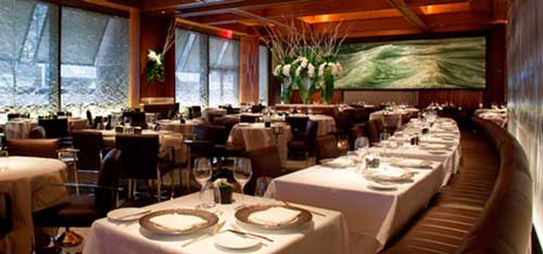 Le Bernardin Restaurant in Manhattan