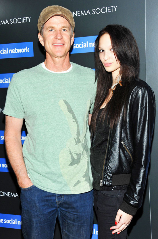 Matthew Modine With His Daughter