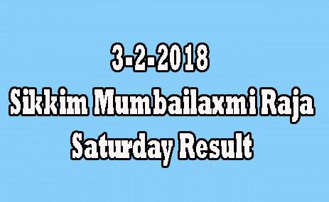 Mumbailaxmi Raja Saturday Result