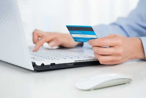 Online Credit Card Process