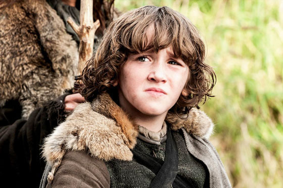 Art Parkinson in Game of Thrones