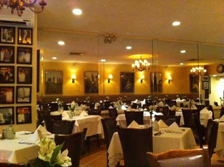 Patsy's Italian Restaurant in Manhattan