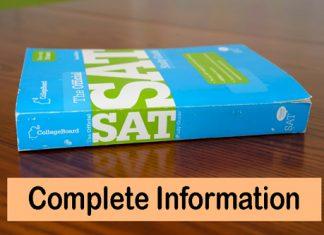 SAT Exam Info
