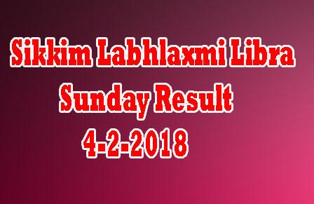 Sikkim Labhlaxmi Libra Sunday Result