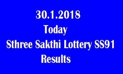 Sthree Sakthi Lottery SS91 Result