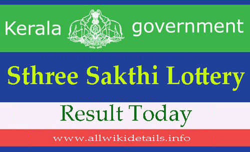 Sthree Sakthi Lottery result